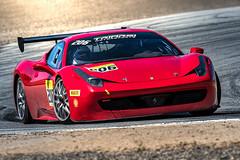 Ferrari 458 @ Laguna Seca 2019 (Dennis Schrader Photography) Tags: nikon d500 200500mm56nikon monterey california dennisschrader dennisschraderphotography 458italia ferrarichallenge weathertechraceway ferrari lagunaseca 2019 cars unitedstatesofamerica