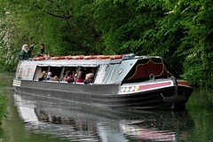 Friends of the Cromford Canal Trip Boat 'Birdswood' arriving at Cromford Wharf, Peak District (HighPeak92) Tags: narrowboats tripboats birdswood friendsofthecromfordcanal cromford peakdistrict derbyshire canonpowershotsx700hs