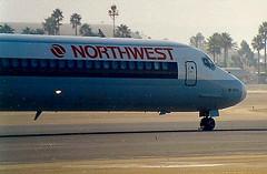 Northwest Airlines MD82 N931MC at San Diego International Lindbergh Field SAN California USA (thelastvintage) Tags: northwestairlines md82 n931mc sandiegointernationallindberghfield san california usa mcdonnell douglas first flight date 14081981 07051982 muse air n10035 01071982 17021986 transtar airlines 01081987 continental 20111987 northwest
