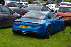 2019 Alpine A110 Legende Auto (>Tiarnán 21<) Tags: kcz 110 kcz110 renault alpine a110 blue rare rhd uk england car lovely