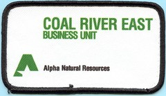 Alpha Natural Resources, Coal River East Business Unit (Coalminer5) Tags: coalmining coalminer coalmemorabilia coalcollectibles miningmemorabilia mining miningcollectible miningartifacts miner sewonpatch patch alphanaturalresources coalrivereast