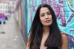 esmeralda (e³°°°) Tags: esmeralda smile street streetportrait portrait portraiture portret mademoiselle meisje mädchen model woman lady antwerp antwerpen anvers retratos femme female fille face frau dame chercherlafemme mural rittrati grafitti stunning stunner