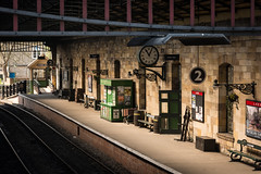 Pickering Station Still Life (Mabvith) Tags: yorkshire england uk pickering nymr railway station platform