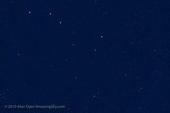 Ursa Major in Twilight (Amazing Sky Photography) Tags: bigdipper constellation gazelle gradientxterminator leaps softon twilight ursamajor bluesky plough