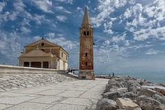 HDR pics: Caorle Chiesa Santa Maria dell'Angelo (Michele Bortolotti) Tags: sea church wide angle lens canon caorle landscape eos80d efs1022mm hdr pics images photo hdrphotography auorahdr hdrphotos