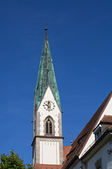 Herzogenaurach in Mittelfranken (Helmut44) Tags: bayern franken mittelfranken herzogenaurach landkreiserlangen altstadt kirche kirchturm architektur town tower church churchtower
