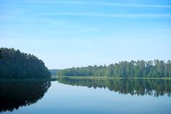 mirror (paku_) Tags: augustów krajobraz natura niebo woda water mirror blue sky nature lake forest landscape