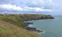 Cornwall, England (east med wanderer) Tags: england cornwall uk thelizard village peninsula sea coast cliffs clouds walking
