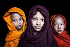 Myanmar 2019 (mauriziopeddis) Tags: asia myanmar birmania burma colors colori people tribe children monk monaci religion spiritual portrait ritratti reportage canon professional monastery street monastero face viso model