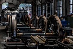 workplace (Guy Goetzinger) Tags: nikon d850 goetzinger workplace train depot historic sbb inhouse hdr industrial atelier werkstatt