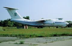 UR-76742 - Melitopol Air Base (OOX) 27.05.2002 (Jakob_DK) Tags: il76 il78 ilyushin ilyushinil76 il76candid ilyushin76 ilyushin78 ilyushinil78 cargo ukdm oox melitopol melitopolairbase ukrainianairforce 2002 ur76742