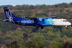 ES-ATA_10 (GH@BHD) Tags: esata atr atr72 atr72600 nordica bhd egac belfastcityairport aircraft aviation airliner turboprop