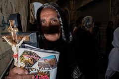 In compassion (Ohadic) Tags: green man march good friday christian coptic jerusalem easter