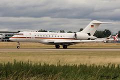 Bombardier BD-700 Global Express 5000 LUFTWAFFE 14+03 9411 Entzheim juillet 2017 (Thibaud.S.) Tags: bombardier bd700 global express 5000 luftwaffe 1403 9411 entzheim juillet 2017