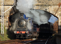 Caledonian Blue (Treflyn) Tags: caledonian railway 812 class 060 number 828 birkhill station boness kinneil srps photo charter scottish preservation society insearchofsteam search steam scotland