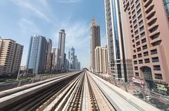 Dubai Metro (twomphotos) Tags: dubai uae united arab emirate vereinigte arabische desert city skyscraper burj khalifa