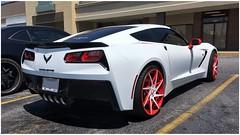 2019 Chevrolet Corvette (steveartist) Tags: cars sportscars chevrolets 2019corvette whitecars customdecor iphonese snapseed instantapp photostevefrenkel mariettaga parkinglot stores