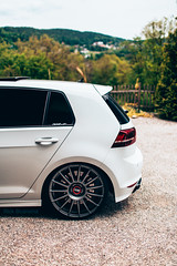 Volkswagen Golf R - OZ Superturismo // SQ7 Brake calliper on 400mm rotor's (Rick Bruinsma) Tags: worthersee 2019 vag volkswagen bmw audi r8 golf gti r lamborghini tt stance perfect oz bbs rs airride static gewindefahrwerk