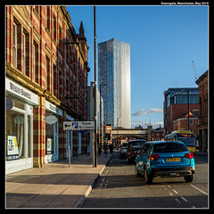 Deansgate (jason_hindle) Tags: manchester unitedkingdom summer greatermanchester deansgatesquare olympusomdem1mkii adobelightroomcc deansgate may adobephotoshopcc olympus1240f28