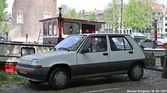 Renault 5 GTR 1989 (XBXG) Tags: xp38lv renault 5 gtr 1989 renault5 r5 recinq supercinq cinq oudeschans amsterdam nederland holland netherlands paysbas youngtimer old classic french car auto automobile voiture ancienne française france frankrijk vehicle outdoor