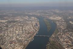 Moguncja i Wiesbaden (magro_kr) Tags: moguncja mainz wiesbaden niemcy germany deutschland nadreniapalatynat rheinlandpalatinate rheinlandpfalz hesja hesse hessen ren rhein rzeka aerial