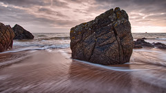Back to Islay Backwashes! (captures.in.time) Tags: sea rock ocean atlantic irishsea seascape seascapephotography landscape landscapephotography backwash shore beach wash light land sun cloud islay island argyleandbute scottishislands calmac waves scotland islands jura