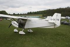 G-CETO (IndiaEcho) Tags: light england canon eos fly airport general aircraft aviation rally hampshire aeroplane civil microlight popham basingstoke airfield in eghp 1000d 912 skyranger gceto