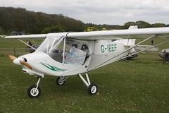 G-IEEF (IndiaEcho) Tags: gieef raj hamsa xair eghp popham airport airfield light general civil aircraft aeroplane aviation basingstoke hampshire england canon eos 1000d microlight fly in rally