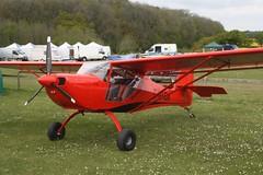 G-XFOX (IndiaEcho) Tags: light england canon eos fly airport general aircraft aviation rally hampshire aeroplane civil microlight popham basingstoke airfield in eghp 1000d aeropro eurofox gxfox
