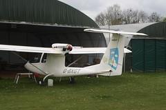 G-BXGT (IndiaEcho) Tags: light england canon eos fly airport general aircraft aviation rally hampshire aeroplane civil microlight popham basingstoke airfield in eghp 1000d sky iii arrow gbxgt