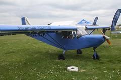 G-CDVK (IndiaEcho) Tags: light england canon eos fly airport general aircraft aviation rally hampshire aeroplane civil microlight popham basingstoke airfield in eghp 1000d savannah mxp gcdvk