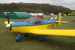 G-CBGB (IndiaEcho) Tags: light england canon eos fly airport general aircraft aviation rally hampshire aeroplane civil microlight popham basingstoke airfield in eghp 1000d zodiac zenair gcbgb