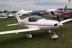 G-BVSF (IndiaEcho) Tags: light england canon eos fly airport general aircraft aviation rally hampshire aeroplane civil microlight popham basingstoke airfield in eghp 1000d designs pulsar aero gbvsf