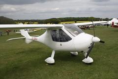 G-CBDJ (IndiaEcho) Tags: light england canon eos fly airport general aircraft aviation rally hampshire aeroplane civil microlight popham basingstoke airfield in eghp 1000d ct2k czaw gcbdj gcboj
