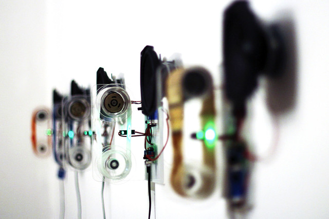 Textile soundscape: cultural morphing