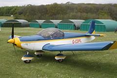 G-CDFL (IndiaEcho) Tags: light england canon eos fly airport general aircraft aviation rally hampshire aeroplane civil microlight popham basingstoke airfield in eghp 1000d zodiac zenair gcdfl