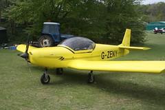 G-ZENY (IndiaEcho) Tags: light england canon eos fly airport general aircraft aviation rally hampshire aeroplane civil microlight popham basingstoke airfield in eghp 1000d zodiac zenair gzeny