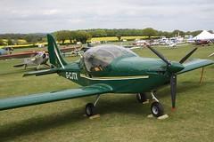 G-CJTX (IndiaEcho) Tags: light england canon eos fly airport general aircraft aviation hampshire aeroplane civil microlight popham basingstoke airfield in eghp 1000d eurostar xl gcjtx
