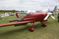 G-RVBI (IndiaEcho) Tags: light england canon eos fly airport general aircraft aviation rally hampshire aeroplane civil microlight popham basingstoke airfield in eghp 1000d vans rv8 grvbi