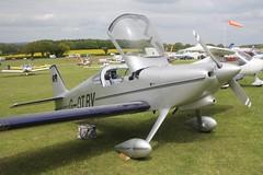 G-OTRV (IndiaEcho) Tags: light england canon eos fly airport general aircraft aviation rally hampshire aeroplane civil microlight popham basingstoke airfield in eghp 1000d vans rv6 gotrv