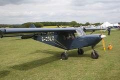 G-CDZU (IndiaEcho) Tags: light england canon eos fly airport general aircraft aviation rally hampshire aeroplane civil microlight popham basingstoke airfield in eghp 1000d savannah mxp gcdzu