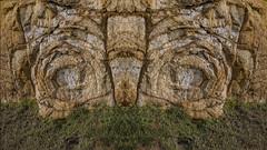 Rockface (Ian@NZFlickr) Tags: rock otago peninsula dunedin nz volcanic