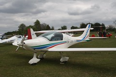 OK-JUA 03 (IndiaEcho) Tags: light england canon eos fly airport general aircraft aviation rally hampshire aeroplane civil microlight popham basingstoke airfield in eghp 1000d urban samba air 03 okjua