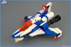 Ice Explorer (BobDeQuatre) Tags: lego moc ice planet brickpirate bpchallenge space spacecraft 2002