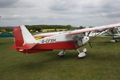 G-CFRM (IndiaEcho) Tags: light england canon eos fly airport general aircraft aviation rally hampshire aeroplane civil microlight popham basingstoke airfield in eghp 1000d sky ranger off best gcfrm