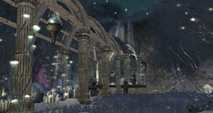 L'Renden (Osiris LeShelle) Tags: secondlife second life avilion loch snow winter lrenden drow