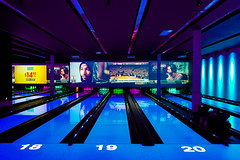 Bowling time (CU TEO MD) Tags: bowling lines colors lanes night fun blue artofimages simplysuperb ngc game