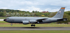 59-1450 (PrestwickAirportPhotography) Tags: egpk prestwick airport usaf united states air force boeing kc135r stratotanker 591450 arizona national guard