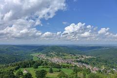 Dabo (RIch-ART In PIXELS) Tags: dabo france alsace lesvosges landscape cloud sky village paysage tree panorama leicadlux6 dlux6 leica mountainside hill montagne