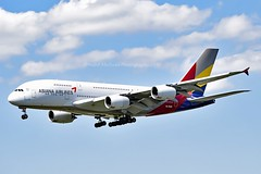 Asiana Airlines HL7626 Airbus A380-841 cn/155 @ EDDF / FRA 25-05-2019 (Nabil Molinari Photography) Tags: asiana airlines hl7626 airbus a380841 cn155 eddf fra 25052019